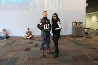 Capt. And Bucky