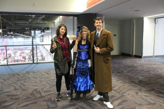 Dr and Tardis, and Companion