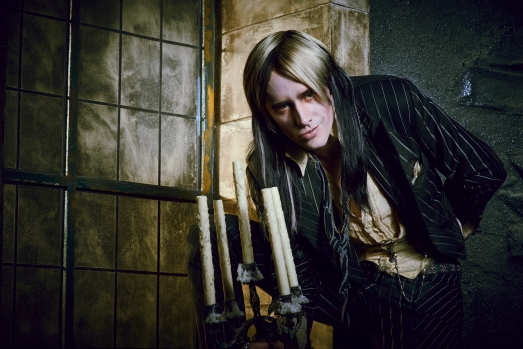 THE ROCKY HORROR PICTURE SHOW: LET'S DO THE TIME WARP AGAIN: Reeve Carney as Riff Raff in THE ROCKY HORROR PICTURE SHOW: LET'S DO THE TIME WARP AGAIN: Premiering Thursday, Oct. 20 (8:00-10:00 PM ET/PT) on FOX. ©2016 Fox Broadcasting Co. Cr: Steve Wilkie/FOX